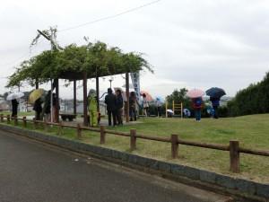 地域の防災避難訓練に参加しました